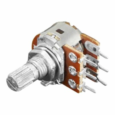 panel mount 10k dual linear potentiometer 8kv6 89   100K Dual Potentiometer -1 pc